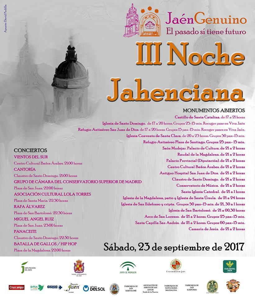 III noche jaheciana 2017